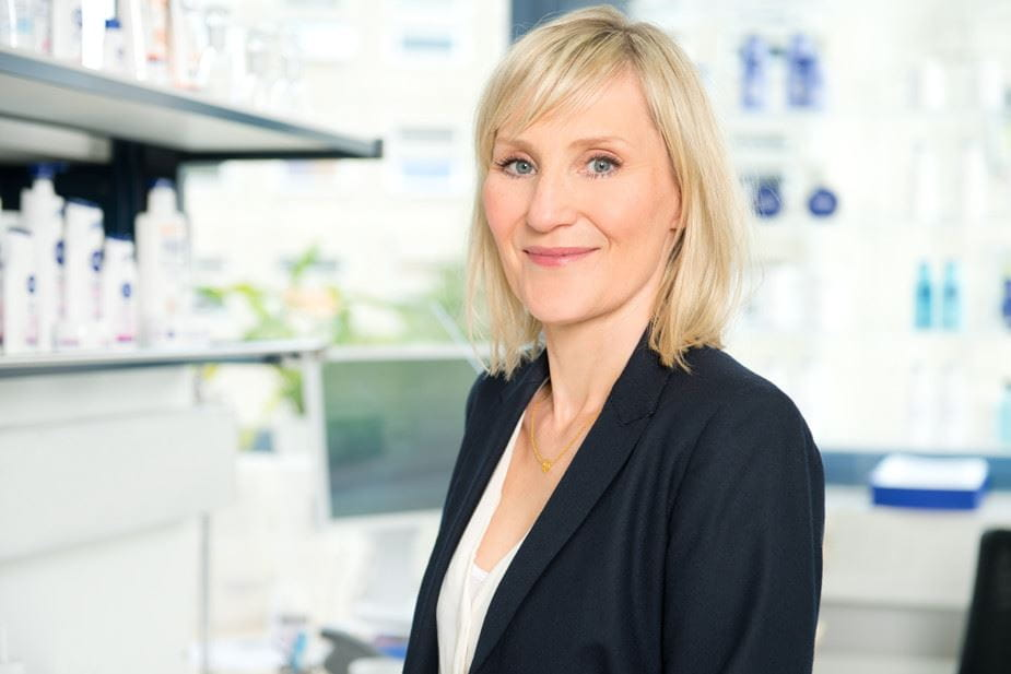 Dr. Christiane Meyer - Manager Product Development and NIVEA Body Products